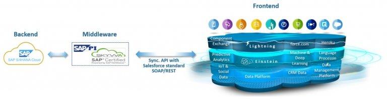Beyond API – SKYVVA (Salesforce SAP, SAP-PI, Database, XML, CSV