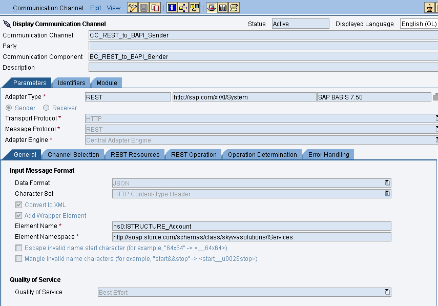 8 How to create an outbound synchronous BAPI interface in