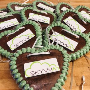 SKYVVA Gingerbread hearts