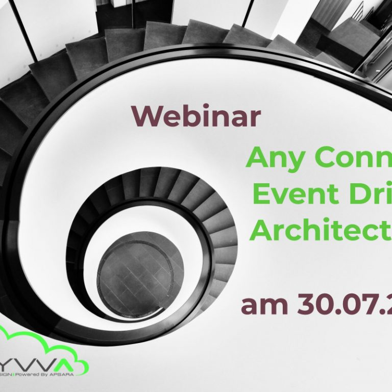 Webinar Any Connect – Event Driven Architecture am 30.07.2020